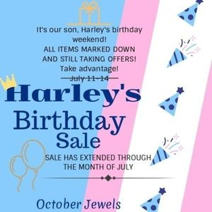 Extended Birthday Sale!!
